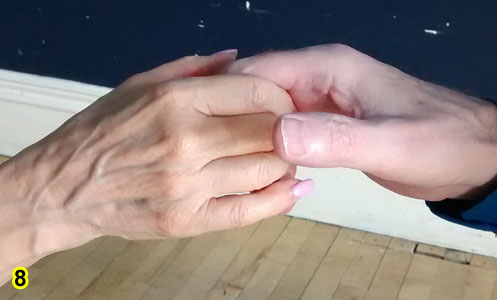 Waltz-Time Fingertip Hold